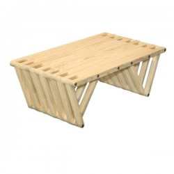 Coffee Table X36, Wood, Unfinished Eco-friendly