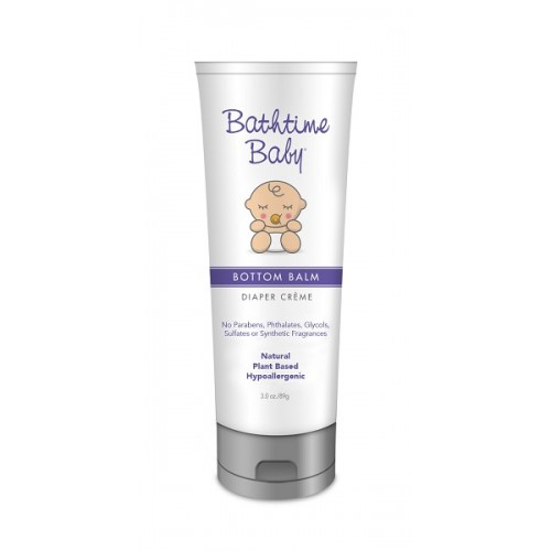 Bathtime Baby Bottom Balm Diaper Creme 3.0 oz.