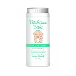 Bathtime Baby Silky Smooth Body Powder 3.5 oz.