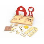 Begin Again Art On The Farm Stencil Kit & Playset