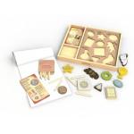 Begin Again Arty Facts Shaping History Vol1 - Art Kit & Stencil Set