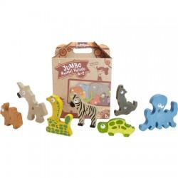 Begin Again Toys Animal Parade A-Z Puzzle - JUMBO VERSION