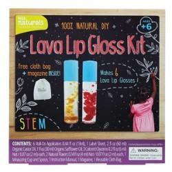Kiss Naturals DIY LAVA LIP GLOSS KIT - CHARITY EDITION U.S.