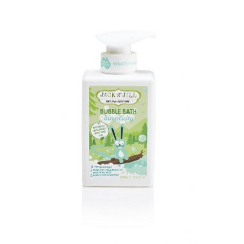 Jack N' Jill Kids Simplicity Bubble Bath, Natural Bath Time
