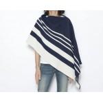 Eco Bold Stripe Poncho