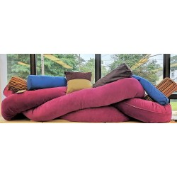 Mrs. Noodle Pillow 11 inch by 13 ft